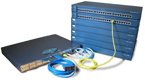 building-a-network-with-the-use-of-the-router-servers-switches